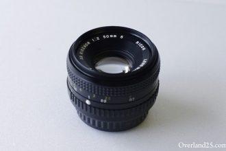 XR Rikenon 50mm F2 (その1) – 初めて買ったオールドレンズ。選んだ理由。マウントって何?