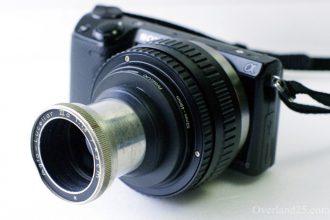 [投影机镜头] 爱克发Agfa Lucellar IIIa 5cm F1.6 点评-Movector大旋流散景投影机镜头