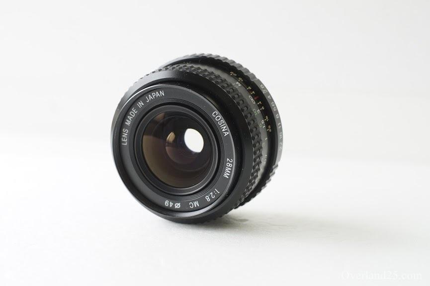 COSINA MC 28mm F2 8 – シックな写り、あまり情報がないKマウントコシナ