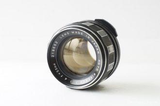 AUTO RIKENON 55mm F1.4 – フィルター径55mm、大きく重い大口径レンズ。これが富岡光学なの?