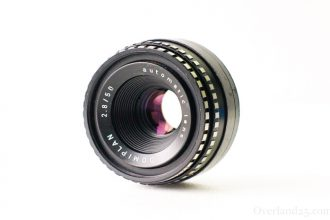 "[M42] Domiplan 50mm F2.8 Review – ""Soap Bubble Bokeh"" Lens of the same brand as Torioplan"