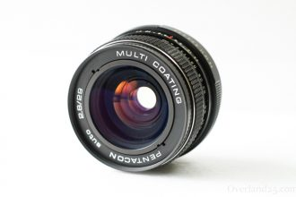 [M42] Pentacon auto 29mm F2.8 (Meyer Orestegon) Review – I bought for travel.