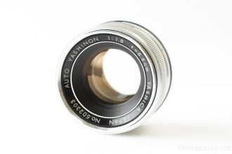 [M42] Auto Yashinon 5.5cm F1.8 Review – Tomioka Optical lenses are wonderful!