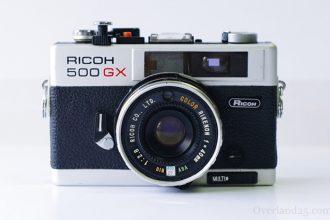 Ricoh 500GXの使い方。機械式でも使えるハイブリッドコンパクト。EEとAEの違いとは?