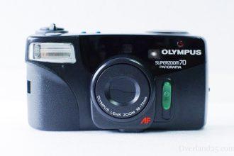 Olympus OZ70 panorama zoomの使い方。90年代の全自動フィルムカメラ。誰でも簡単に使えます!