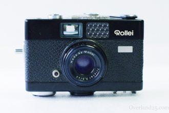 Rollei B35 / 35Bの使い方。iPhoneよりも小さい!ドイツの技術を総動員したメカニカルカメラ!