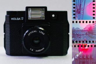 Holga 120の使い方と35mmフィルムで撮影する方法。iPhoneでのデジタルデュープ。