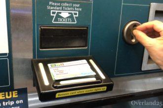 【動画解説あり】シンガポールMRT切符の買い方(スタンダードチケット)