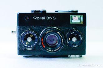Rollei 35Sの使い方。小さな高級カメラ!CONTAX T2購入に迷っている人にもおすすめ!